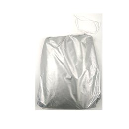 car protections Canada - 170T silver plated car cover sun visor with ear sun protection and rainproof car silver plated car cover