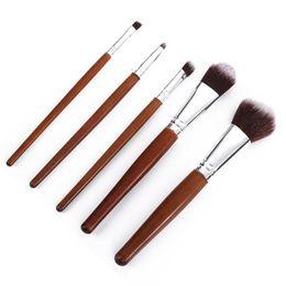 5Pcs Makeup Brushes Set Eyeshadow Brush Eyebrow Eyeliner Powder Blush Foundation Brush Pincel Maquiagem Beauty Tool