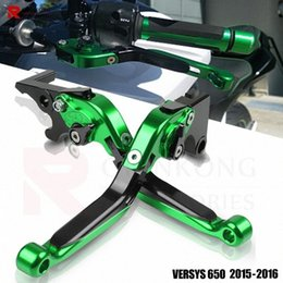 braking levers NZ - VERSYS 650 CC ABS Handle Brake Clutch For VERSYS 650 2015-2016 Motorcycle Accessories Folding Brake Clutch Levers b8Qg#