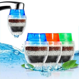 Water Filter Carbon Home Household Kitchen Mini Faucet Tap Water Clean Purifier Filter Filtration Cartridge on Sale