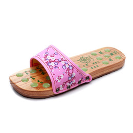 Summer Japanese Wood Clogs Geta Slippers Anti-slip Hot Selling Wedges shoes Oriental Japan Traditional Kimono Shoes Wooden Women Geta Clogs on Sale