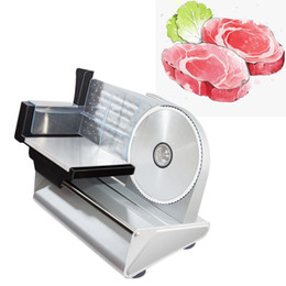 electric meat cutter NZ - hot Automatic Mini Electric Meat Slicer Frozen Mutton Roll Grinder Food Mincer Beef Lamb Cutting Machine Vegetable Bread Cutter