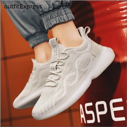 male tennis shoes NZ - New Men Leisure Shoes Tennis Shoes Male Coconut Mesh Popcorn High Elasticity Lovers Night Soft Bottom Jogging