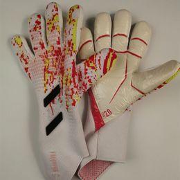 GUANTES kalecisi 2020 Profesyonel futbol yırtıcı eldivenler Luvas futbol kaleci eldivenleri Hedef