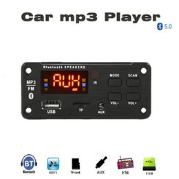 usb audio video player 2020 - Portable Audio & Video MP3 Players Bluetooth5.0 Decoding Board Module Wireless Car USB mp3 player bluetooth TF Card