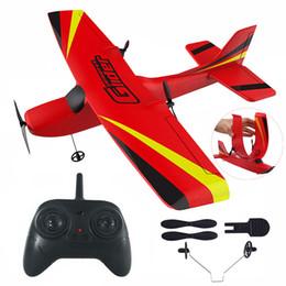 RC Aircraft Z50 2.4G Wireless EPP Foam Built Gyro Glider 300mAh Radio-Controlled Toy for Boy Kid on Sale