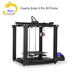 metal stables Australia - Creality Ender 5 Pro 3D Printer Upgrade V1.15 Silent Mainboard with Metal Extruder Frame Use Double Y-axis With Stable Output Ender-5Pro