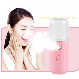 nano face steamer UK - Electronic Beauty Instrument Nano Ionic Cleaning Facial Cleaner Facial Face Sprayer Face Steaming Device Facial Steamer Machine