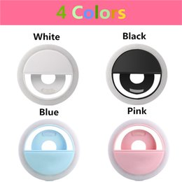 smartphone photography UK - USB Charge Selfie Portable Flash Led Camera Phone Photography Ring Light Enhancing Photography for iPhone Smartphone