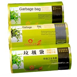 plastic bags material Australia - Haoxianh gar Plastic gar new material thickened 50% environmental protection plastic bag household Large Medium Small garbage bag