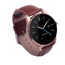 smart watch android monitor NZ - K88H Smart Watch 1.22 Inch IPS Round Screen Support Sport Heart Rate Monitor Bluetooth Smartwatches For Huawei IOS Android
