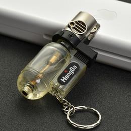 Tragbare Spritzpistole Schweißbrenner Feuerzeug Düse Butan Jet Gas Schlüsselring Feuerzeug Turbo 1300 C-windundurchlässiges Zigarre Rohr im Freien im Angebot