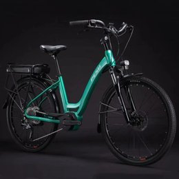 h engine Australia - 26 Inch Electric bicycles Travelling Pesu Ebike 36v250w Mid-engine 9SP Electric assistance bicycles 36V Lithium Battery maximum range 170Km