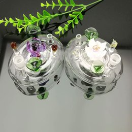 free beds NZ - new Europe and Americaglass pipe bubbler smoking pipe water Glass bong Glass flower bed pot