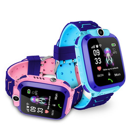 Q12 Kinder Smart Watch SOS Phone Watch Smartwatch für Kinder mit Sim-Karte Photo Wasserdicht IP67 Kinder Geschenk für IOS Android