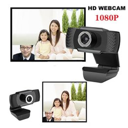 Wholesale china shipping computers for sale - Group buy USB Web Camera P HD MP Computer Camera Webcams Built In Sound absorbing Microphone for Desktop Laptops