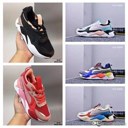 shoes cloth straps UK - 02Newest Pum Thunder RS-X Spectra Doing Old Genuine Leather Casual Old Dad Shoes Thunder Spectra Breathable Genuine Leather Running Sneakers