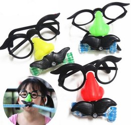 big nose UK - Super Funny Big Nose Blowing Dragon Glasses Tricky Fun Toys Novelty Funny Gadgets Toys For April Fool's Day Children Gifts LZ0303