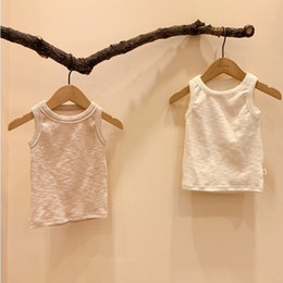 baby threads clothing NZ - 2020 Summer Baby Clothing Sleeveless Thread Baby Bodysuit Breathable Cute Vest Girls Bodysuits Cotton Infant Boy Jumpsuits