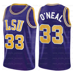 Wholesale tiger golden resale online - NCAA LSU Tigers Jersey Shaquille NAVY O Neal Sooners Hardaway Young Trae Marquette Dwyane Golden Eagles Wade Basketball Jerseys z1