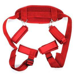 Mondbal volwassen seksspeeltjes voor vrouwen paren games bdsm bondage handscuff banden nek enkel manchetten beperkingen Slave sex Producten