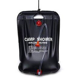 outdoor bath bag UK - Outdoor solar thermal bag camping supplies water storage bag outdoor shower camping bath
