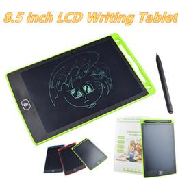 venda por atacado LCD Writing Tablet Digital Portátil 8,5 polegadas Drawing Tablet manuscrito Pads eletrônico Tablet Conselho para Adultos Crianças Crianças MQ25