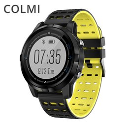 touch watches for men UK - wholesale Full touch GPS Smart Watch IP68 Waterproof Heart Rate Monitor Activity tracker Multiple sports modes Smartwatch for Men