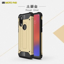 vision pro UK - Rugged Armor Hard PC TPU Shockproof Case For MOTO P40 G7 power one action vision zoom pro play
