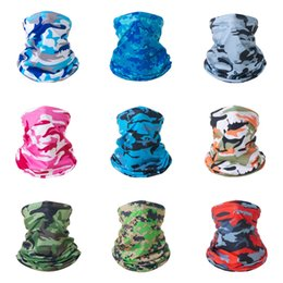 mesh veils UK - Tactical Hunting Camouflage Scarves Sniper Er Multi Scarf Veil Face Mesh Scarves Outdoor Fishing Traveling Anti-Mosqui #804#959