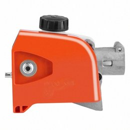 tree gear Canada - Tree Chainsaw Gear Head 26Mm Orange Spline Pole Saw Tree Cutter Chainsaw Gearbox Gear Head Tool 9 Spline S6BO#