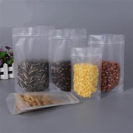 Опт Запах Proof сумки прозрачный пластиковый мешок упаковки пищевых продуктов Одноразовые контейнеры для пищевых продуктов Закусочная Газа Seal многоразовый Candy Sugar 0 56yl C2