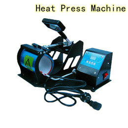 Wholesale New Arrival Heat Press Machine Sublimation Printing Craft DIY Heating Transfer Size Adjustable for Normal Mug