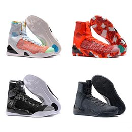 cheap basketball shoes for men Australia - Cheap 2020 New Sale Mamba 9 High Weaving BHM Easter Christmas Kids Basketball Shoes for Top Qaulitys Mens 9s Men trainers Sports Sneakers