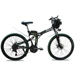 Wholesale steel city resale online - New Design Electric Bicycle v ah ah w Inch Folding Electric Bike with High Quality Carbon Steel Portable City Ebike