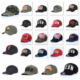 Großhandel neue Art d2 Hip Hop Baseballmütze Hysteresen klassische Outdoor-Kanada-Flaggen-Art-Hut-Symbol Männer Frauen Caps Casquette Hüte Brief Stickerei wza5dd