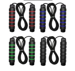 Seilspringen Turnhalle Jump Seile Gewichtheben Geschwindigkeit Seil Übung Fitnessgeräte Stahldraht Outdoor Sports Seil Fett Brennen Übung Boxen im Angebot