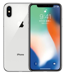 iphone desbloqueado venda por atacado-Recuperado Original iPhone X sem rosto id Desbloqueado Cell Phone Hexa núcleo GB GB iOS polegadas MP G LTE