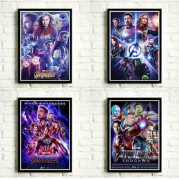 marvel room decor NZ - Marvel Movies Superhero Poster MUC Movie : Endgame Poster Pictures for Home Art Wall Decor Kids Room Painting mC3E#
