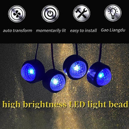 mood lighting 2021 - USB Car LED Atmosphere Lamp Sound Control Interior Ambient Star Light Decoration Car interior lights, mood lighting, dri