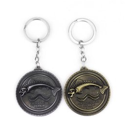 classic alloy NZ - A Song of And Fire Around Key Chain Tuli Family Alloy Logo Car Keychain for Man Women