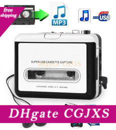 Classic Usb Cassette Player Cassette To Mp3 Converter Capture Walkman Mp3 Player Cassette Recorders Convert Music On Tape To Computer Laptop on Sale