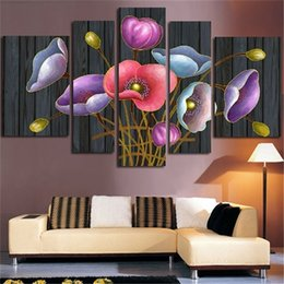 stitch paintings NZ - Blooming lily floral 5D Needlework DIY Diamond Painting Cross Stitch Square Diamond Embroidery Home Decoration Mosaic AS857 0922