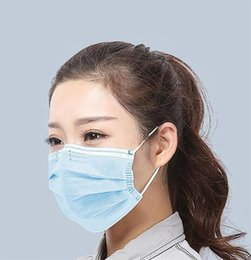 dust mask filters UK - Anti Mask Mouth Face 95% Filtration Mask Masks l Dust Protection 5 Layers Filters Mask Dustproof Unisex#779