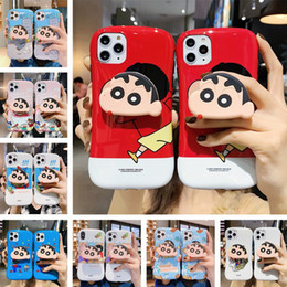 silicone phone holders NZ - 3D Silicone Cartoon Phone Holder Case for IPhone X Xr Xs Max 8 Plus 6s Cute Stand Back Cover Coque Fundas