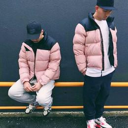 Wholesale hot ladies coats resale online – Hot Sale Men Casual Down Jacket Down shark Coats Mens Man Winter Coat outwear Hoodie Jackets Couple ladies jacket cotton