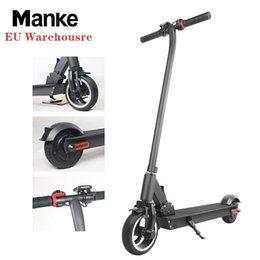 Venta al por mayor de Stock En Alemania, Manke precios al por mayor de aleación de aluminio plegable 300W 6.5inch Kick Scooter eléctrico con 4.4AH 5.2Ah batería 6.6Ah 7.8Ah MK013