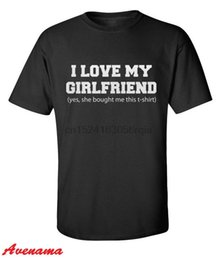I Love My Girlfriend Mens T Shirt DIVERTENTE S. VALENTINO Dono fidanzato (GF TSHIRT)