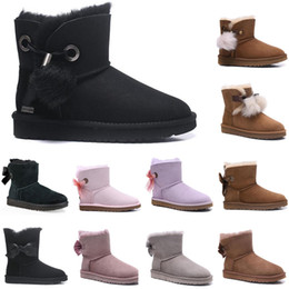 2020 Nuovo Australia, ugg uggs avvio di scarponi ugg women men kids uggs slippers furry boots slides marrone formato 36-40 9Hp2 # in Offerta