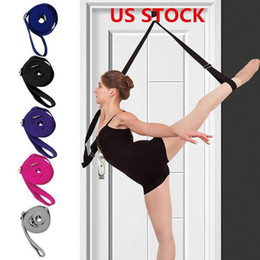 stockings for legs Australia - US STOCK, Leg Stretcher Ballet Stretch Band for Dance & Gymnastics Exercise Training Home or Gym Foot Stretch Bands Hanging Strap FY6149